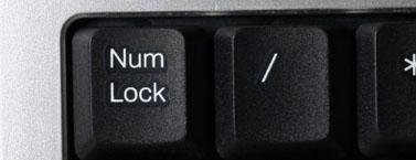 tasta num lock